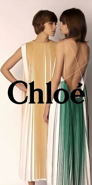 pleats! chloe!                                                                                                                                                                                 More