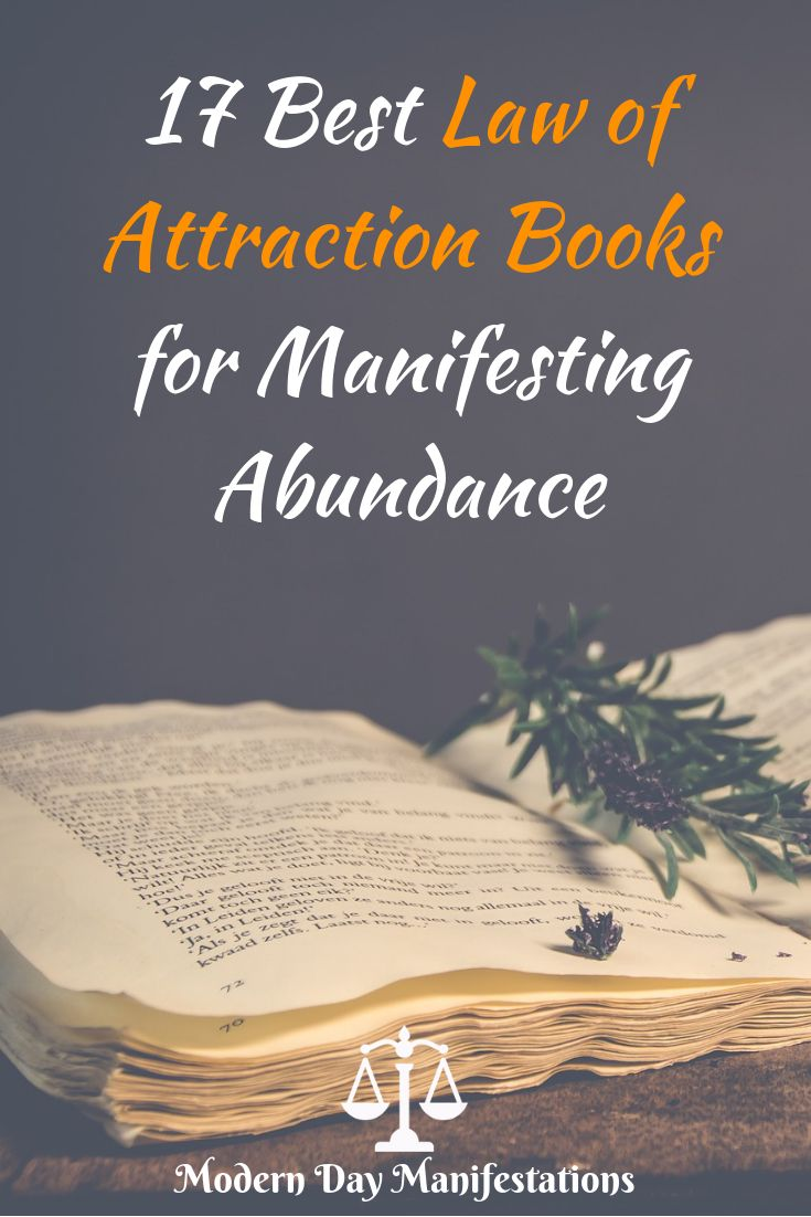 The Best Law Of Attraction Books