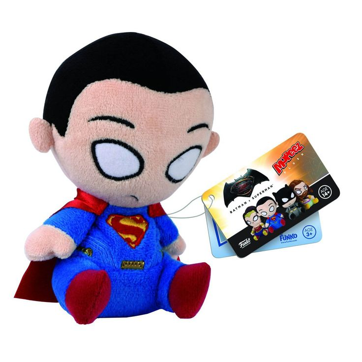 Funko Batman Vs Superman Mopeez Superman Plush Figure - Radar Toys