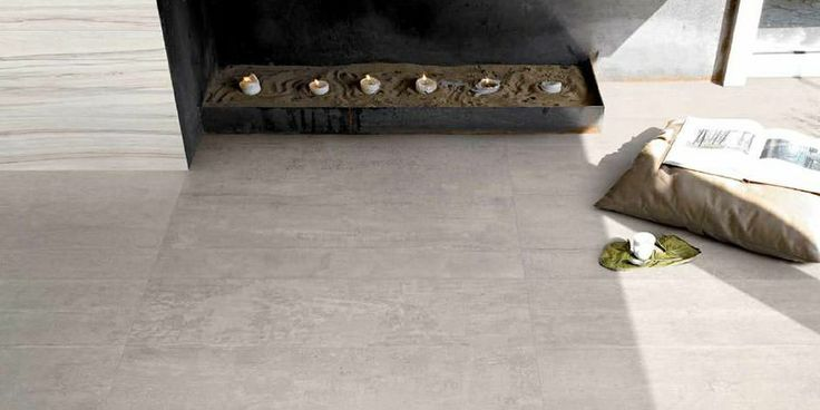 Use the Provenza - Re-Use concrete in Fango Sand for an ultra modern urban dwelling, or something more unique, such as a seaside villa. Exclusive to Elegance Tiles.
