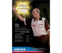 World Champions John Lowe Poster