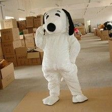 Adult Snoopy costume - Alibaba website
