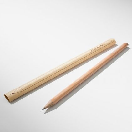 Never lose your pencil again. Philippe Ferreux's magnetic pencil sticks to anything metal.