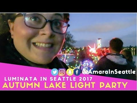 Fall is Lit at Art Fueled Autumn Equinox Party 2017 | Amara In Seattle - YouTube