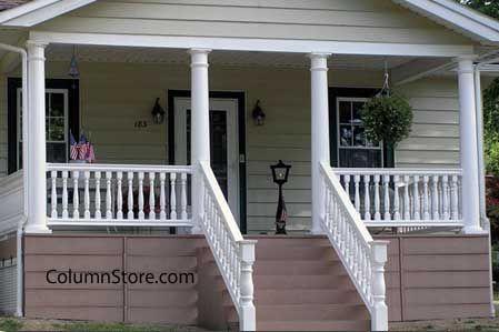 vinyl porch columns
