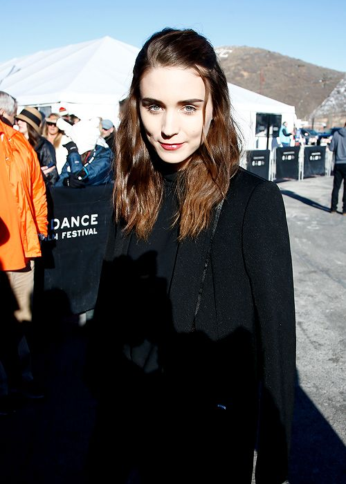 Actress Rooney Mara attends the 'Song One' premiere at the Eccles Theatre during the 2014 Sundance Film Festival on January 20, 2014 in Park...