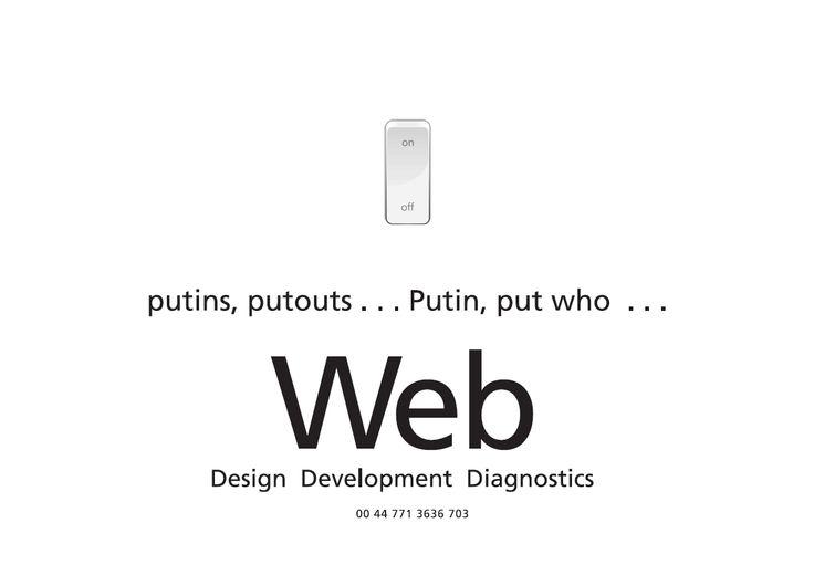Io Web - Design Development Diagnostics - With a wry eye we view.