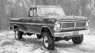 Someday I want to own a 1970's Ford pickup!