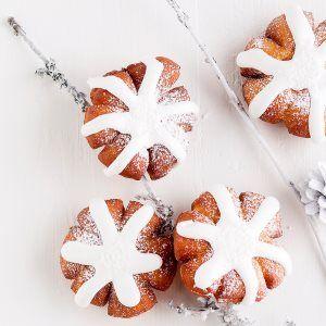 Lumihiutalemunkit / Christmas donuts / Kotiliesi.fi / Kuva/Photo: Sampo Korhonen/Otavamedia