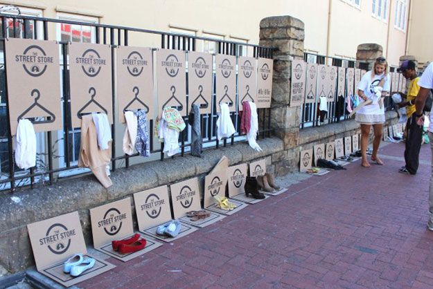Sidewalk Shop Creates A Retail Experience Out Of Salvation Army Donations - PSFK