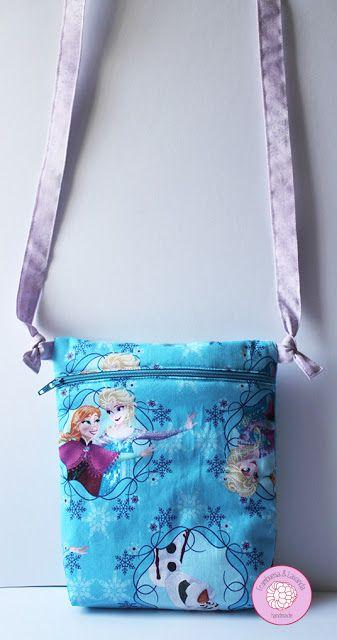 #bolso #niña #Frozen #infantil #costura #handmade