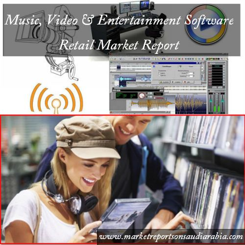 #Music, #Video and #Entertainment Software Retail Sales in #SaudiArabia