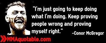 Image result for conor mcgregor quotes