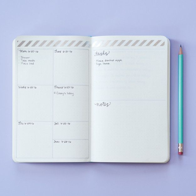 If setting up a layout like that each day seems stressful or you don't have time…