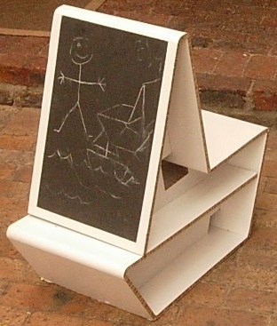 Xanita Multi-Functional Children's Furniture by maximillian nebe, via Behance
