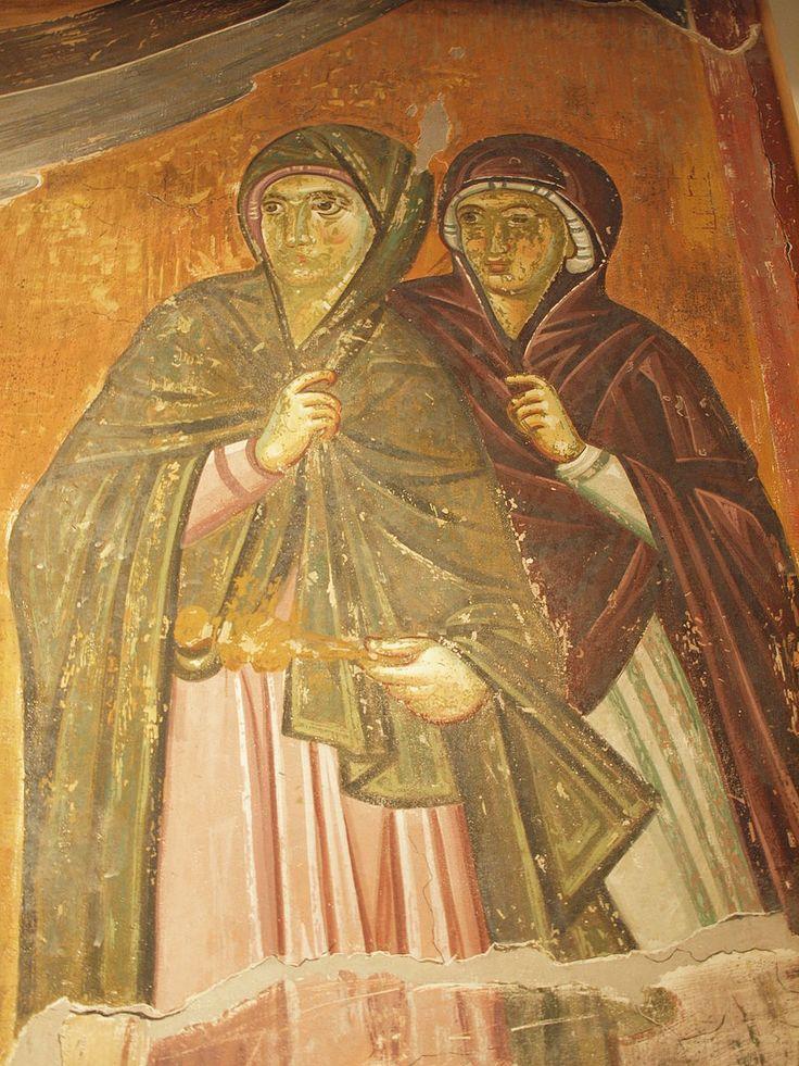 File:Women at Christ's tomb, Mileševa.jpg