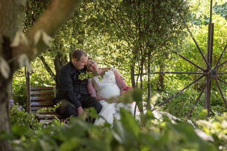 Candid Photos of a Lifetime - Enjoying a quiet moment in Gairloch Garden, Oberon . Gairloch Garden Oberon is the perfect location for wedding formals. www.candidphotosofalifetime.com.au