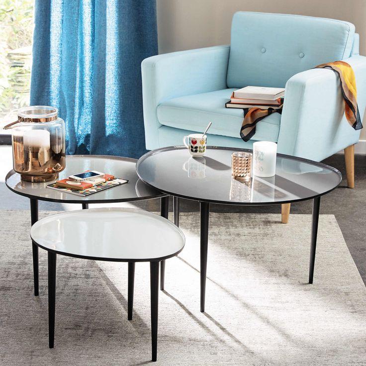 17 meilleures id es propos de table basse galet sur pinterest canap rose canap vintage et. Black Bedroom Furniture Sets. Home Design Ideas