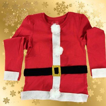 En Guiainfantil.com te enseñamos a hacer un disfraz casero de Santa Claus. http://www.guiainfantil.com/articulos/ocio/manualidades/disfraz-casero-de-papa-noel-manualidades-navidenas/
