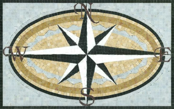 8 Best Nautical Medallions Images On Pinterest Mosaic