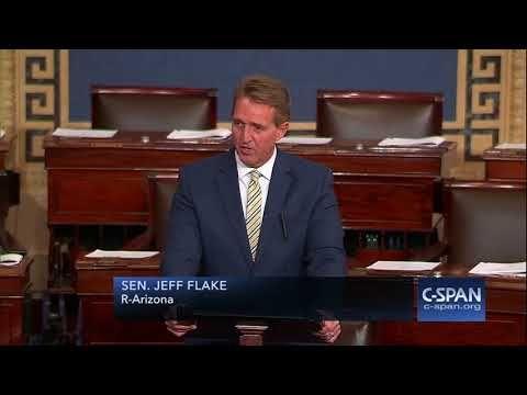 (1) Sen. Jeff Flake condemns President Trump's attacks on media -- FULL SPEECH (C-SPAN) - YouTube