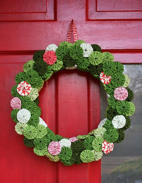 Yo Yo Wreath | Flickr: Intercambio de fotos