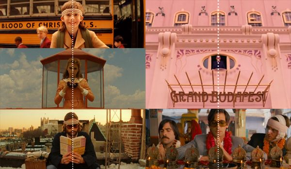 Wes Anderson's Symmetrical Film Styling