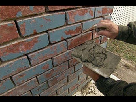 How to Repoint a Brick Foundation - This Old House - YouTube. I can use