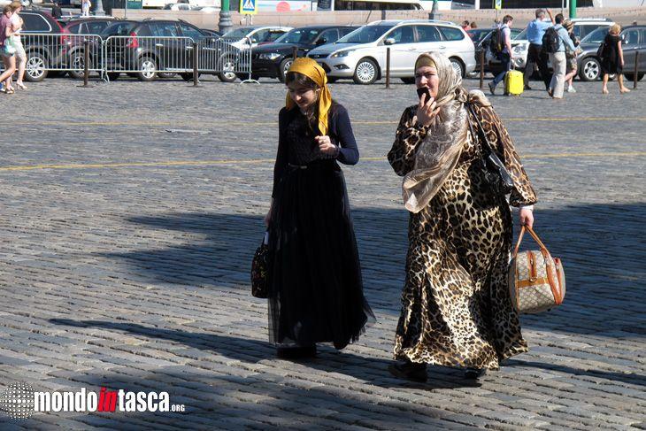 A #Mosca convergono persone da ogni parte della #provincia dell'immenso territorio della #Russia