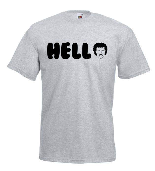 #Lionel #Richie #Hello #Mens #Funny #Tshirt Medium - 5XL Various Colours