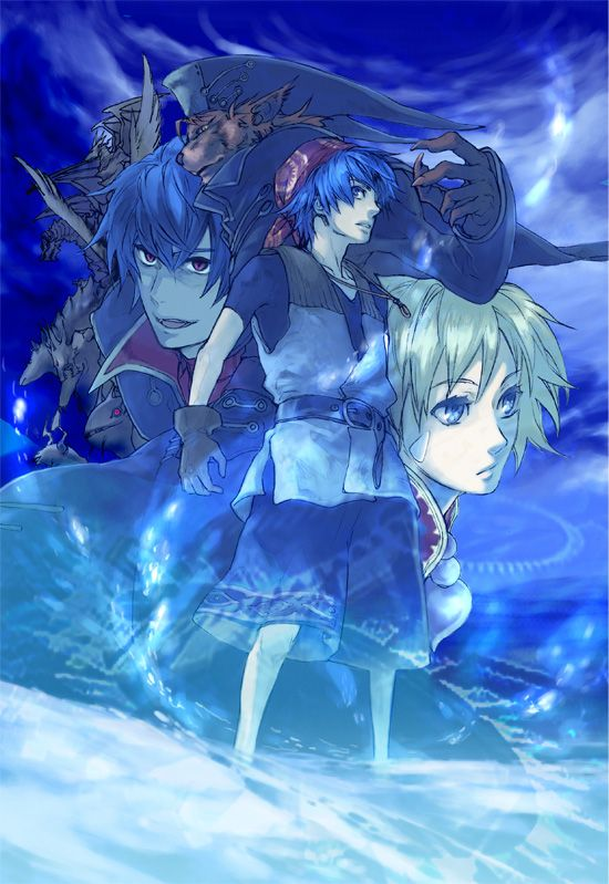 Tags: Anime, Chrono Cross, Serge, Lynx, Kid (Chrono Cross), SQUARE ENIX, Dark Serge
