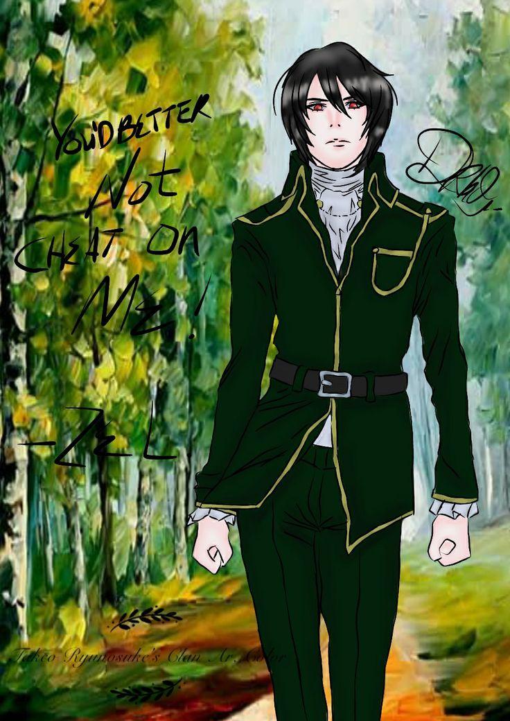 Noblesse  Raizel Fanart lineart Drhd Warna me Takeo Ryunosuke Ar color and redraw