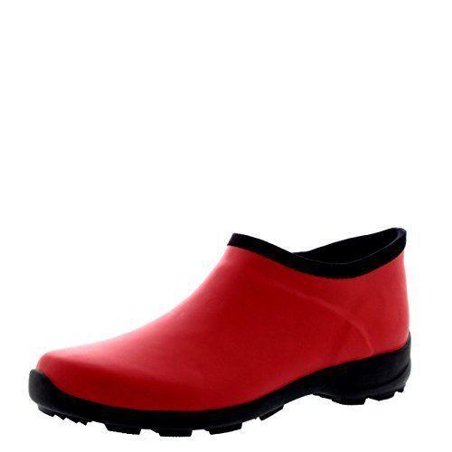Womens Rubber Welly Shoes Garden Rain Snow Waterproof Wellington Boots - 9 -...