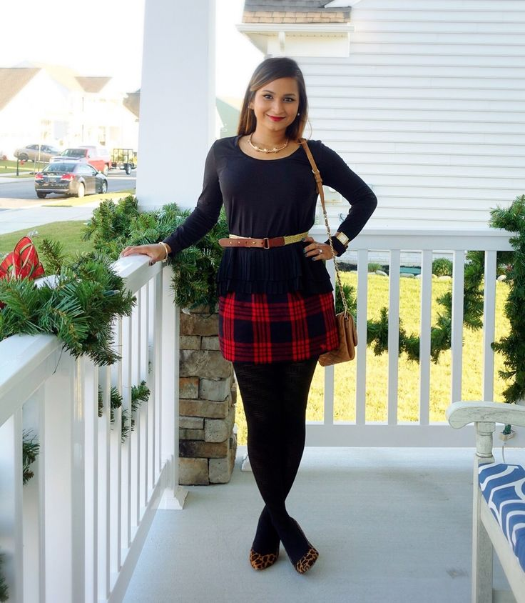 After I published my post %u2018Tips for Mixing Plaid and Stripes%u2018, I got an overwhelming response on the skirt in particular. With my readers asking me for other ways to style the skirt. So here is another look at how versatile this skirt really is. This time I have mixed plaid and leopard together! http://fivefootnothingshopping.com/blog/peplum-plaid-and-leopard/ Click image or shop at https://go2b.uy/%40fivefootnothingshopping/25