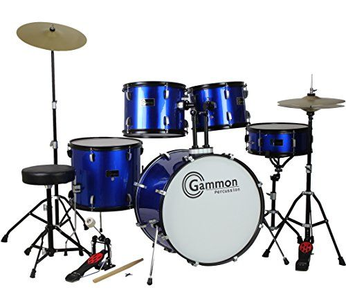 Look no further! The Gammon Battle Series is the perfect entry level drum set at the lowest price ever for a complete adult/full size drum set! We are an authorized Gammon dealer - Brand New FULL-SIZ...