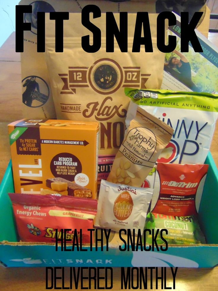 Fit Snack - A healthy snack box delivered monthly. #ad