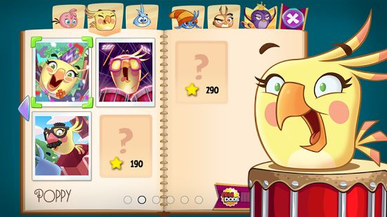 angry birds stella ui - Google Search