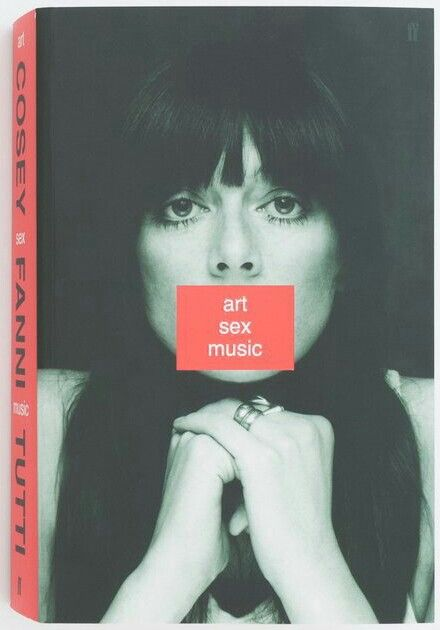 """""""Art Sex Music"""" COSEY FANNI 2017 Faber & Faber. She helped redefine music, feminist art & activism in the late '70s as a  founding member of COUM Transmission, Throbbing Gristle and electronic pioneers Chris & Cosey. The autobiography starts in the late '60s and focuses on the past four decades with intimate detail, insight & humour. Lots for fans of her work and the real stories about life inbetween projects or performances makes it a good read."""