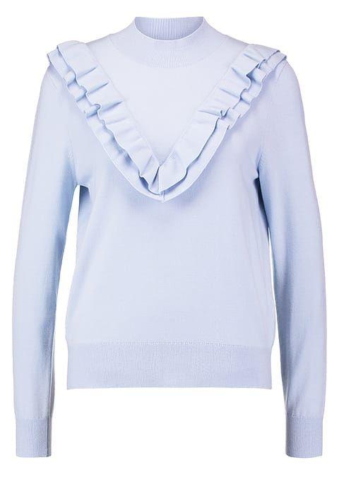 Selected Femme SFADDI - Strickpullover - xenon blue - Zalando.de