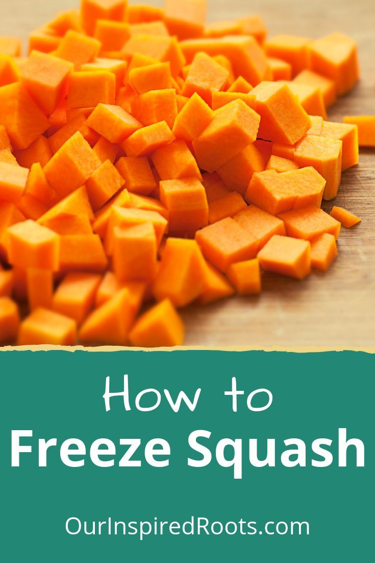 How To Freeze Squash And Other Preservation Methods In 2020 Freezing Squash Winter Squash Recipes Frozen Butternut Squash
