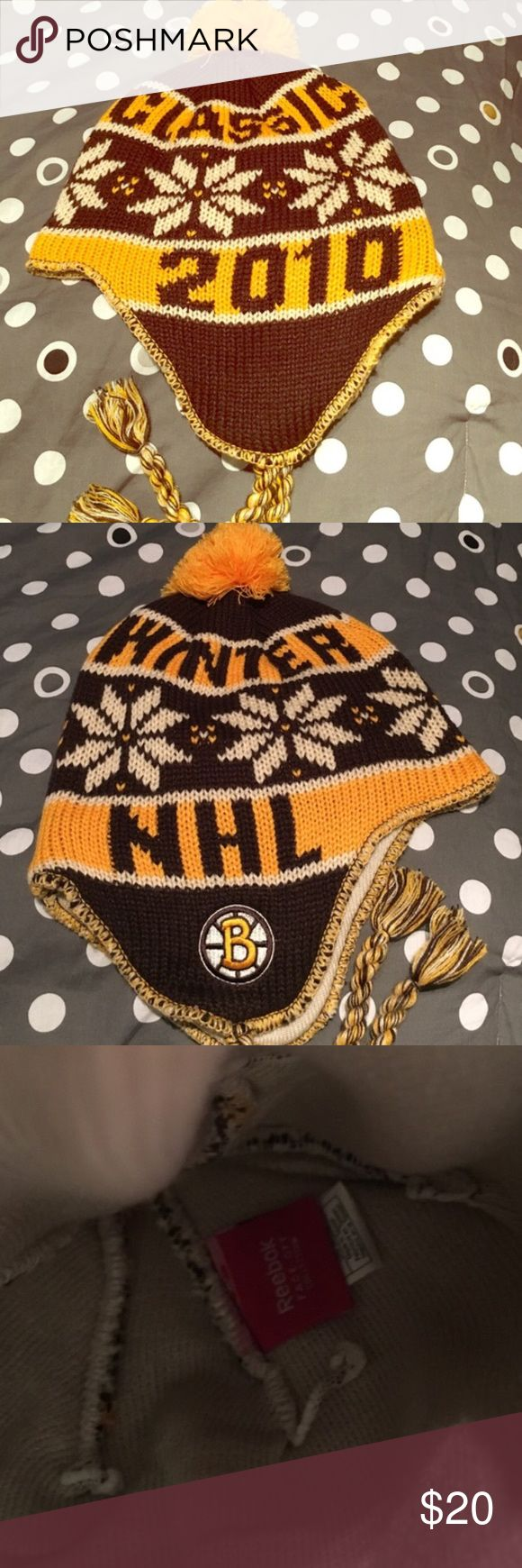 Winter Classic NHL 2010 hat Nwot. No signs of wear or tear. No trades and all sales are final. Reebok Accessories Hats