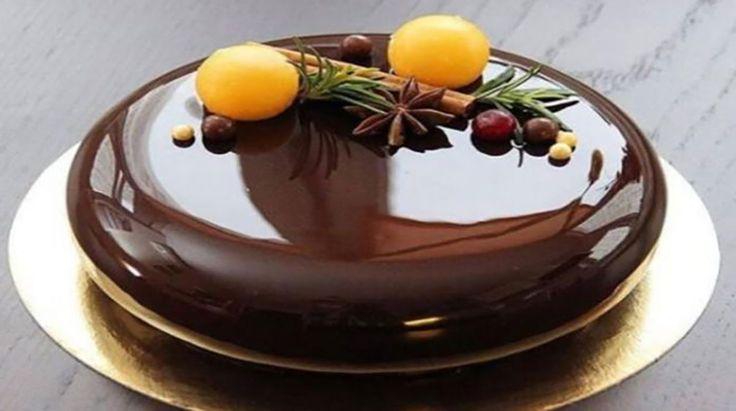 Glazură-oglindă de ciocolată. Veți fi uimiți și încântați la maxim! - Bucatarul