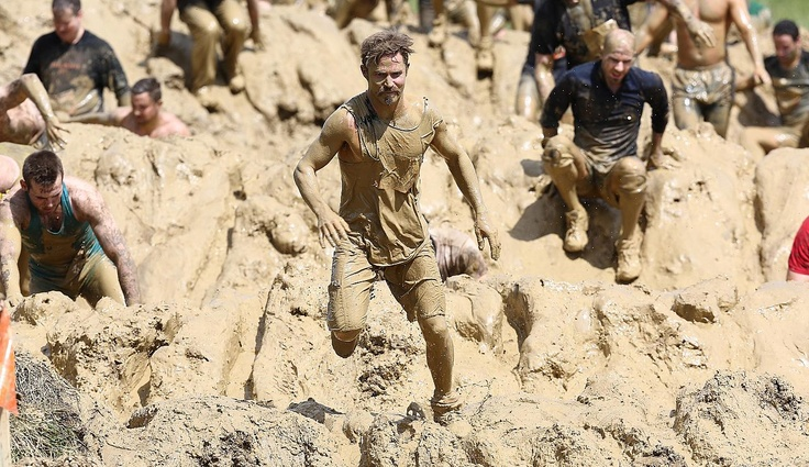 Tough Mudder mud mile. Soooooo much fun! This was taken from the first ever Tough Mudder in the UK.