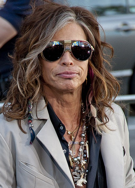 Steven Tyler- those sunglasses on him are awesome