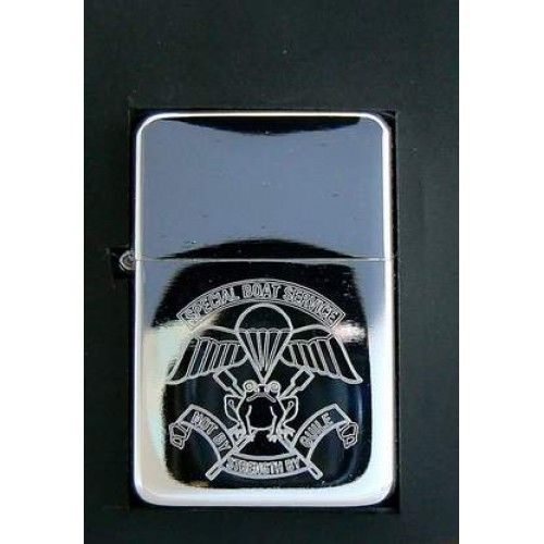British Military Store | Personalised Petrol Lighter | Special Boat Service (SBS)