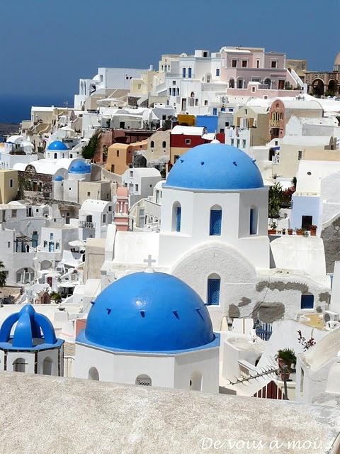 Santorini - J'ai presque la même photo! Cet endroit est magnifique!