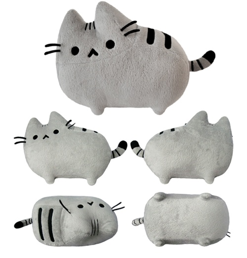 pusheen---my mom just bought me one for Christmas :D