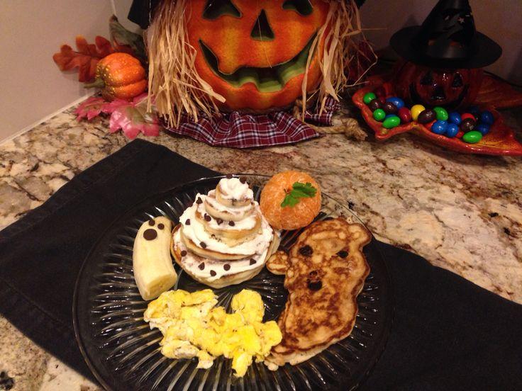 Spooky breakfast fun