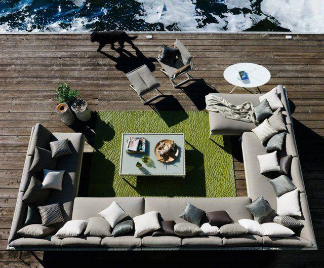 MU Modular Lounge Sofa by DEDON