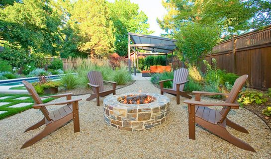 pea gravel patio | The Complete Guide to Patio Materials